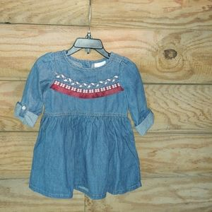 Girls Size 2T Country Rustic Summer Dress
